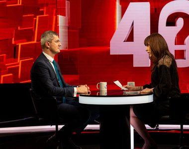 """Dan Barna vine marți, la """"40 de întrebări cu Denise Rifai""""; """"I-ați păcălit pe cei care..."""