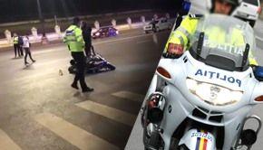 VIDEO- Polițist de la Rutieră,ucis într-un grav accident de circulație