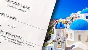 VIDEO-Adeverința de vaccinare,garanția unei vacanțe în Grecia de Paște