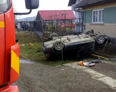 Accident tragic! Un bebeluș de 6 luni a murit,  după ce mașina în care se afla s-a...