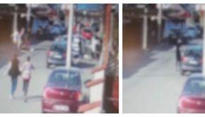 VIDEO| Tragedie fără margini. Două surori au fost călcate cu mașina, chiar pe trotuar