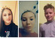Dispariții în lanț la Iași: Două fete și un băiat, cu vârste între 12 și 14 ani, sunt de negăsit