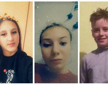 Dispariții în lanț la Iași: Două fete și un băiat, cu vârste între 12 și 14 ani, sunt...