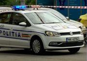 Accident devastator în Vâlcea. Un autoturism şi un tractor s-au ciocnit