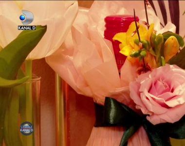 VIDEO - Aranjamentele superbe din florării și cărțile sculptate, cadouri perfecte