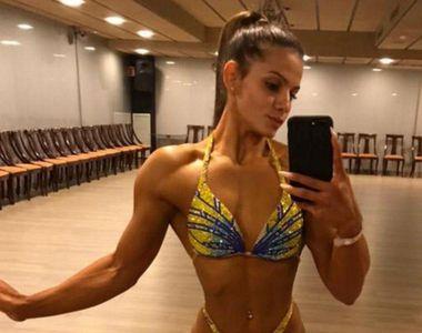 VIDEO - Studenta care a devenit în doar trei ani campioană la fitness
