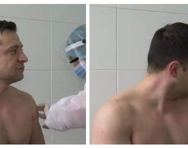 Președintele Ucrainei s-a vaccinat împotriva Sars-Cov-2. Imagini inedite cu Volodimir...