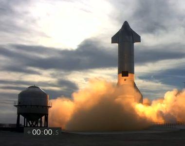 Racheta Space X a explodat după aterizare