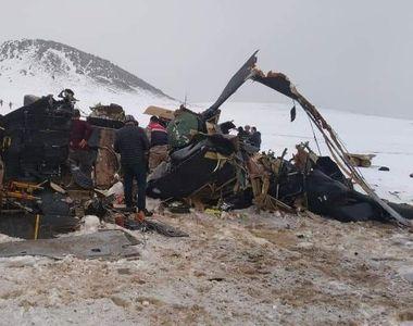 BREAKING NEWS: Un elicopter militar s-a prăbușit. Cel puțin 11 soldați au decedat