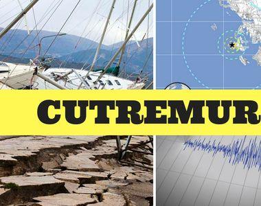 Alertă! Trei seisme într-o singură zi. Unde s-a întâmplat asta