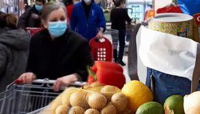 VIDEO-Alimentele sunt din ce în ce mai scumpe, iar scumpirile continuă