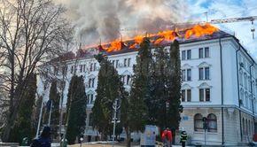 foc la prefectura sucevei