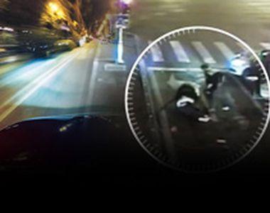 VIDEO| Cursă nebună cu poliția pe urme