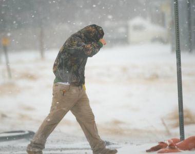 Alertă meteo de la ANM. Cod galben de ninsori în Capitală și 15 județe