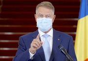 """Iohannis: """"Cifrele din ultima săptămână privind evoluţia pandemiei sunt îngrijorătoare. Circulaţia pe timp de noapte, restricţionată de la 22:00"""""""