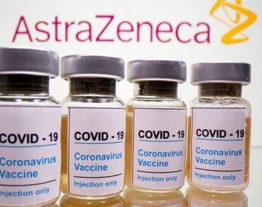 Start la vaccinare cu serul AstraZeneca. Noi doze de vaccin în România