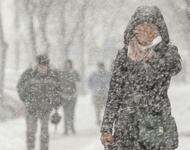 Atenţionare de călătorie MAE: Cod portocaliu de ninsori şi vânt, în Suedia