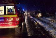 Accident de ultima oră. O ambulanță a ieșit de pe șosea: o adolescentă gravidă, în stare gravă