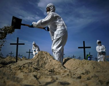 Coșmarul din Brazilia se adâncește. Peste 2.200 de decese în 24 de ore!