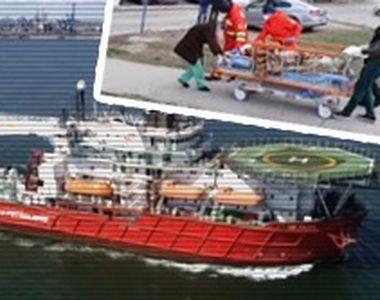 VIDEO - Marinari implicați într-un naufragiu dramatic în Marea Neagră
