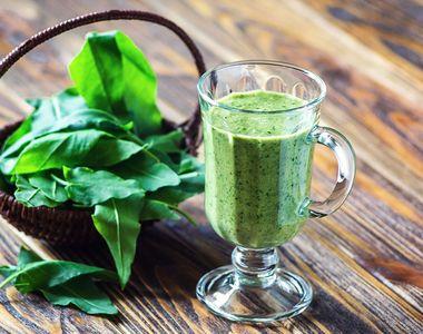 Suc de spanac reţetă: Beneficii extraordinare pentru sănătate
