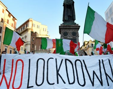 Italia - carantină națională la doilea an la rând, în weekendul Paştelui