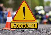 Accident pe DN 1A. O persoană, rănită