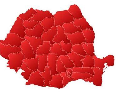 Un nou judeţ din România intră în scenariu roşu