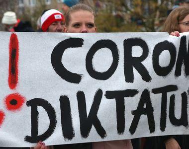 Proteste în Germania împotriva restricţiilor anti-COVID