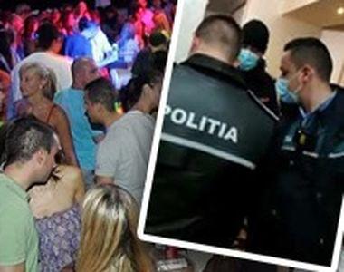 VIDEO - Polițiștii din Capitală au oprit o petrecere într-un penthouse