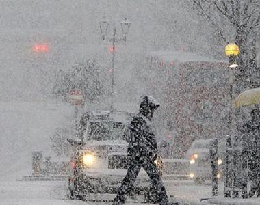 Avertizare de călătorie MAE: Cod galben de ploi şi ninsoare, în Bulgaria