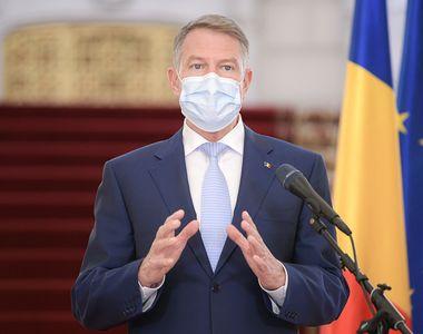 """Iohannis, informații de ultima oră despre pandemie: """"Nu există motive care să ne..."""