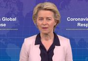 Ursula von der Leyen solicită reciprocitate unor state, în exportul vaccinurilor împotriva COVID-19