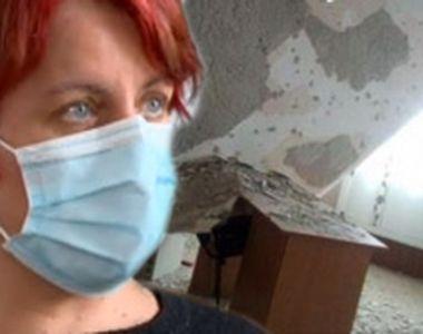 VIDEO - Tavanul unei școli proaspăt renovate s-a prăbușit peste bănci