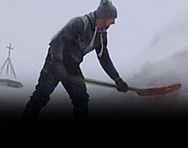 VIDEO - Meteorologii au restrâns codul galben. Capitala, fără ninsoare