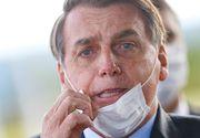 Președintele Braziliei crede că pandemia de COVID este un război împotriva sa