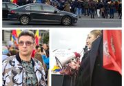 """Proteste anti-mască în București și în țară. Diana Șoșoacă: """"Să vină Iohannis aici, să vorbească cu oamenii"""""""