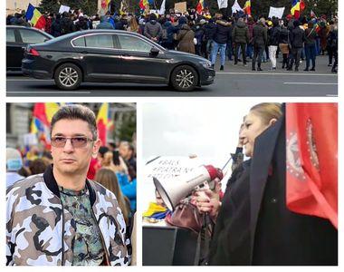 """Proteste anti-mască în București și în țară. Diana Șoșoacă: """"Să vină Iohannis..."""