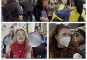 VIDEO - Sătui de carantină, au răbufnit. Proteste în București și în țară