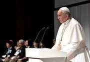 """Papa Francisc spune despre mafie că este """"o organizație a păcatului"""""""