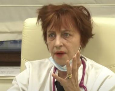 Medicul Flavia Groșan, care a afirmat că tratează bolnavi de COVID-19 după scheme de...