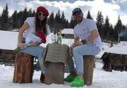 """Mădălina și George de la """"Puterea Dragostei"""" - vacanță de vis la munte"""