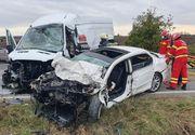 VIDEO-Tragedie în Buzău. 3 muncitori au murit în mașină, spre serviciu