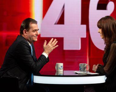 """Ludovic Orban, în această seară, la """"40 de întrebări cu Denise Rifai"""" vorbește și..."""