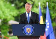 Preşedintele Klaus Iohannis, primul anunț după mai multe zile de tăcere