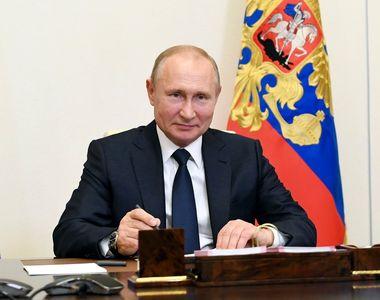 Vladimir Putin s-a vaccinat împotriva COVID-19