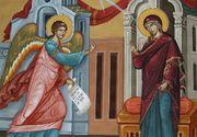 Sărbătoare mare astăzi pentru toți creștinii. De ce cade Buna Vestire întotdeauna pe 25 martie