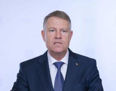 Klaus Iohannis va participa la întrunirea Consiliului European