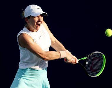 Simona Halep, revenire spectaculoasă în primul meci de la Miami Open