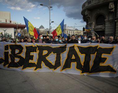 Noi proteste împotriva restricțiilor în mai multe orașe. Incident în Capitală:...